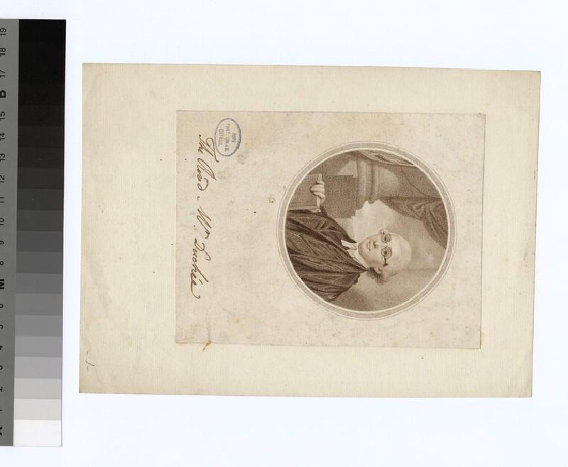 Portrait of Revd. Jacob Duche