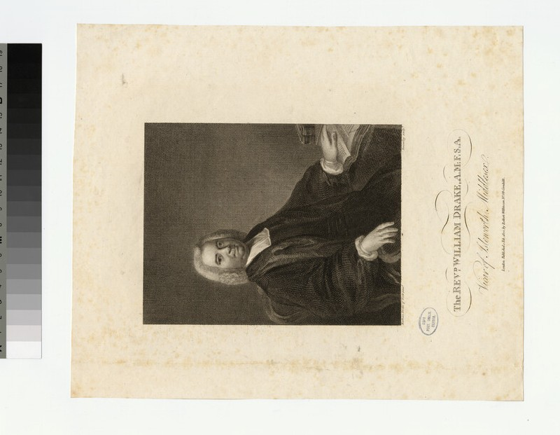 Portrait of Revd. William Drake (WAHP22516.2)