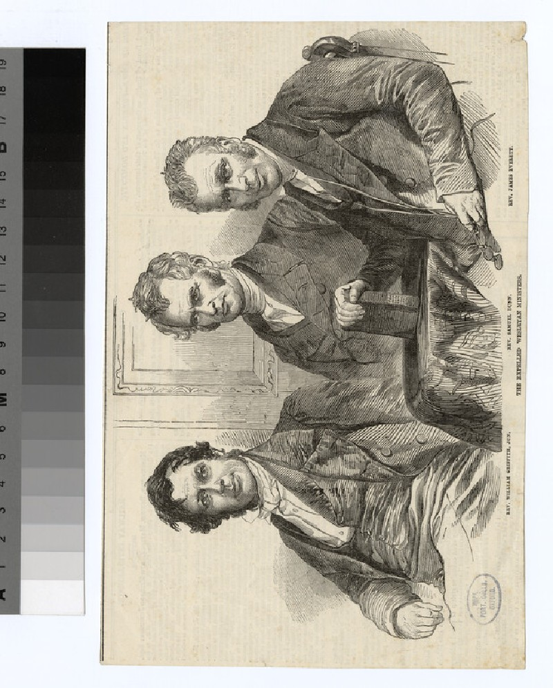 Portrait of S. Dunn, and 2 others
