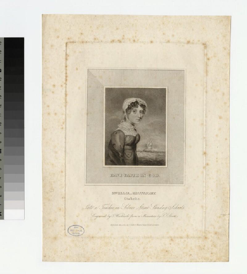 Portrait of Mrs Ellis
