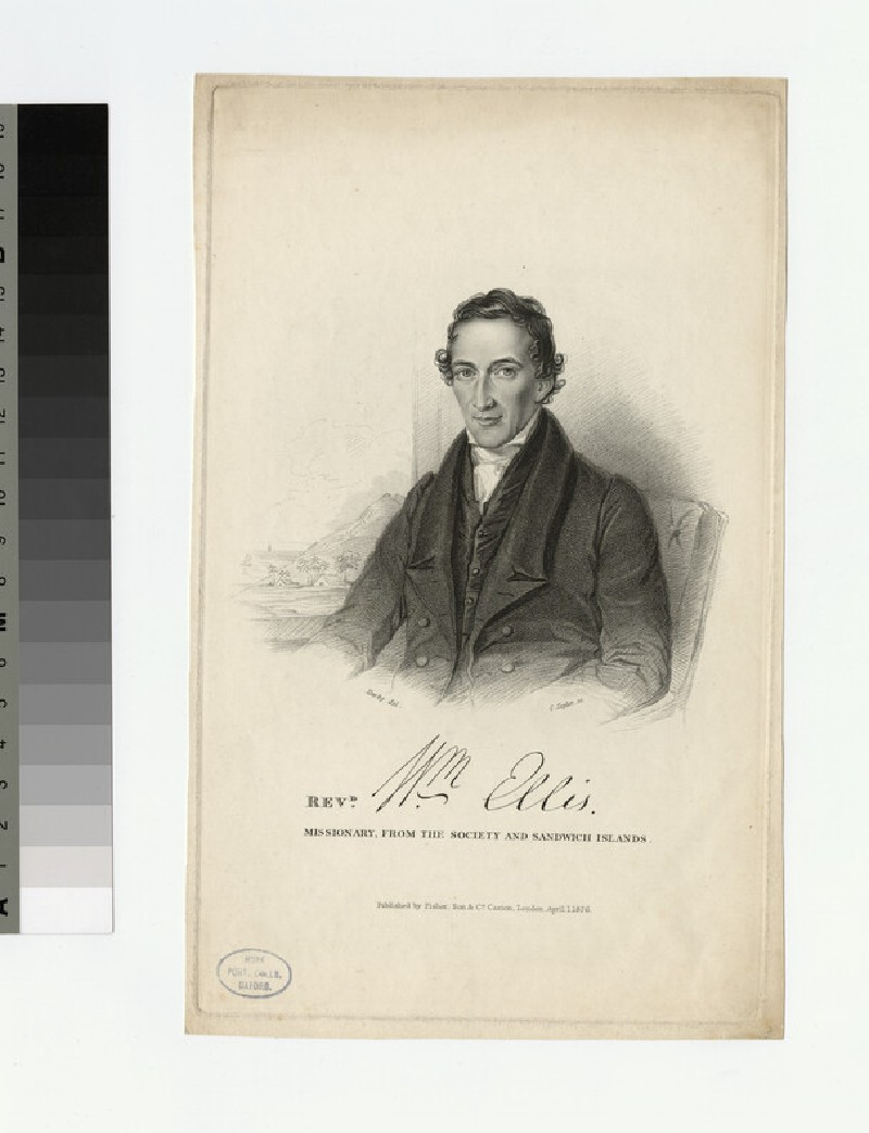 Portrait of W. Ellis