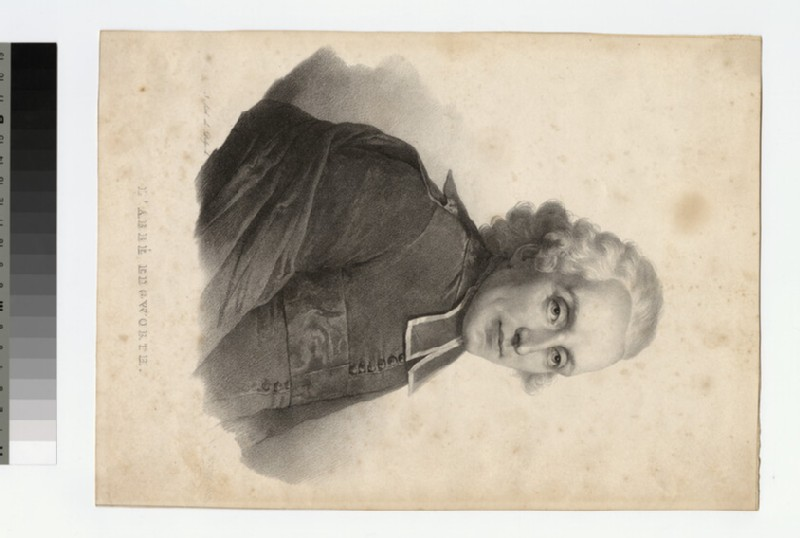 Portrait of Abbé Edgworth