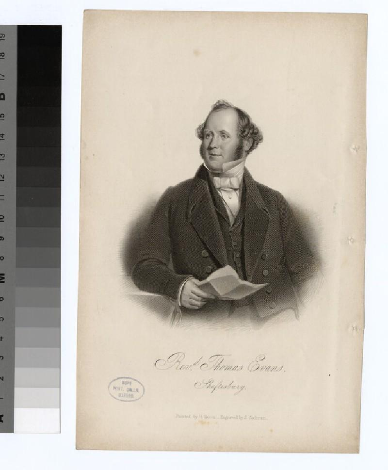 Portrait of T. Evans (WAHP22598)