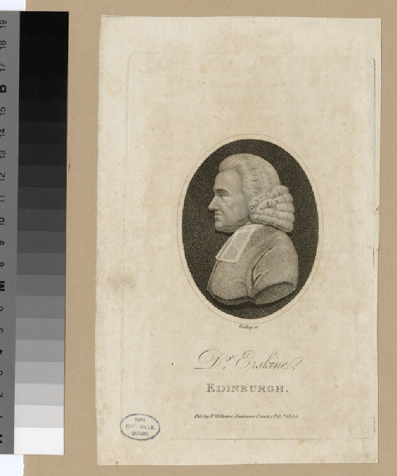 Portrait of Dr Erskine (WAHP22620)