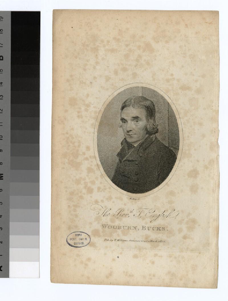 Portrait of T. English