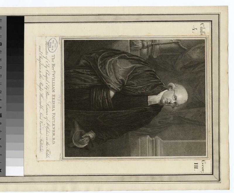 Portrait of Revd W. Faulkner