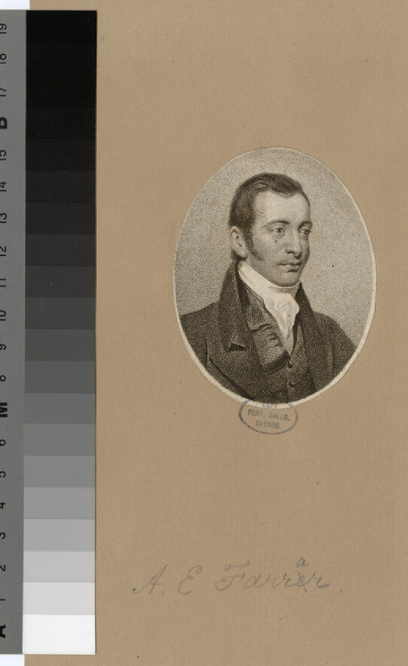 Portrait of A. E. Farrar