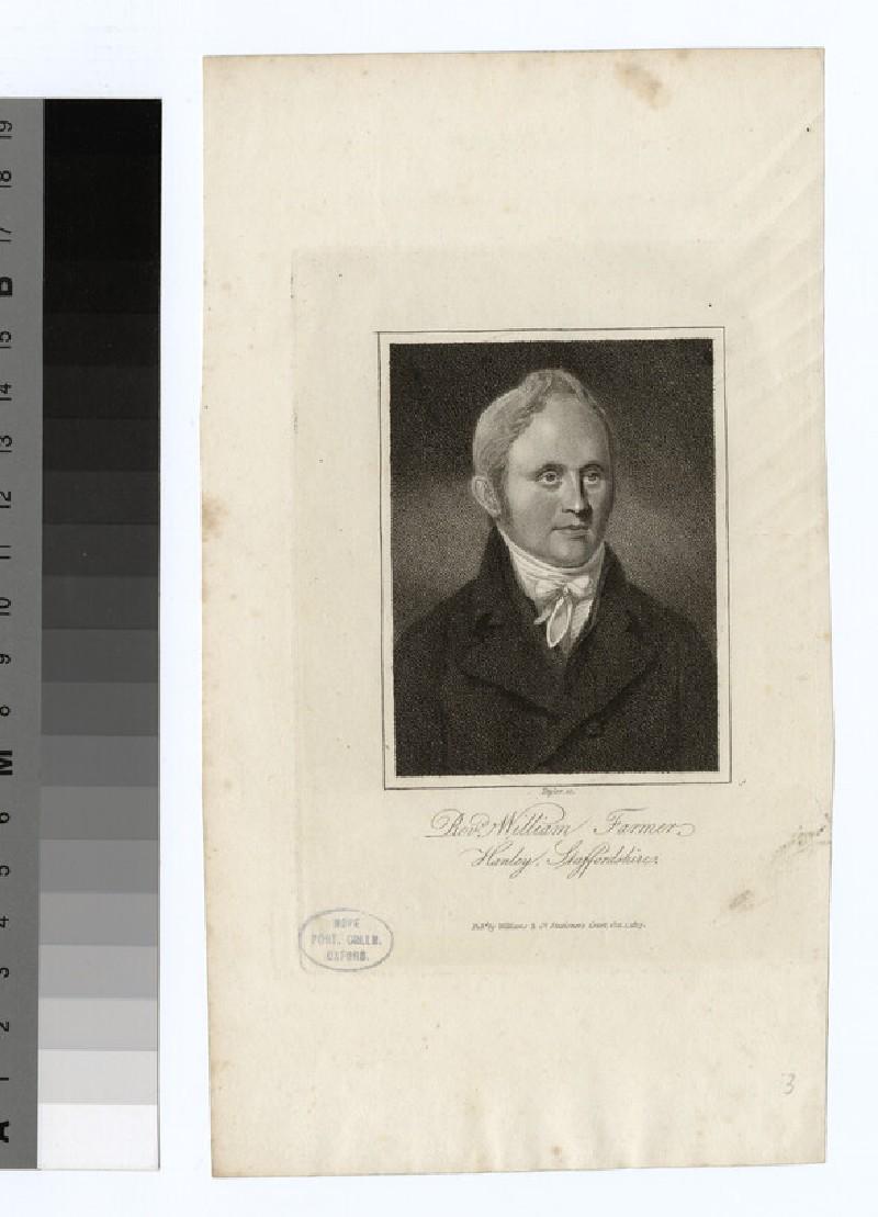 Portrait of William Farmer
