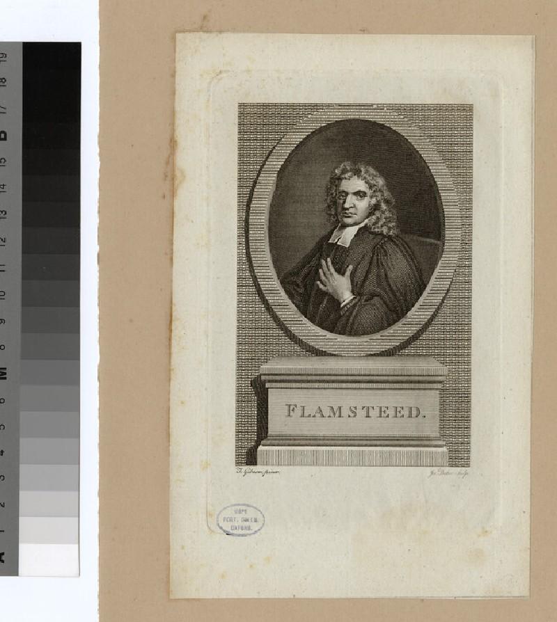 Portrait of J. Flamsteed