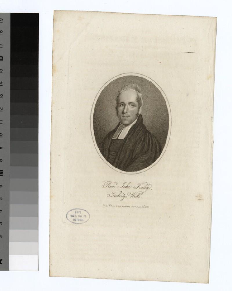 Portrait of J. Finley