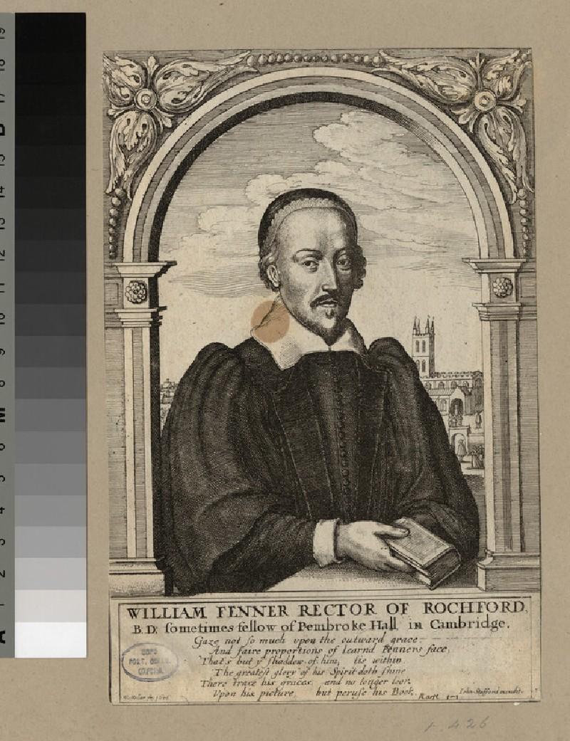 Portrait of Revd W. Fenner