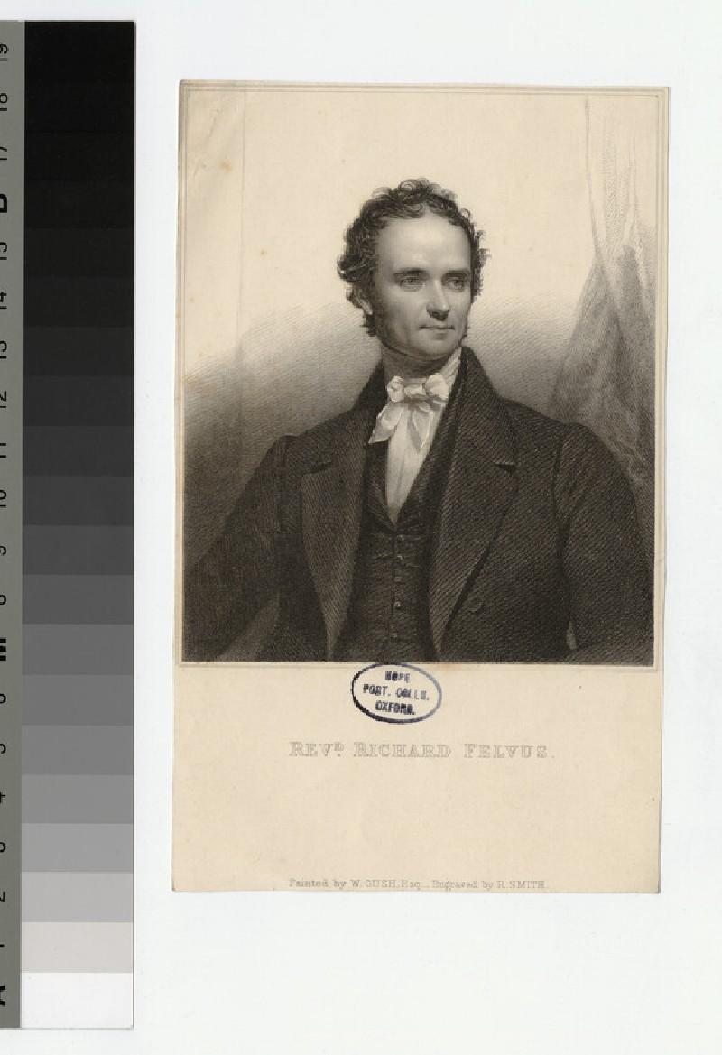 Portrait of Revd R. Felvus