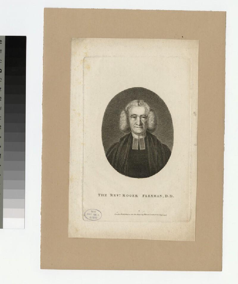 Portrait of R. Flexman (WAHP22688)