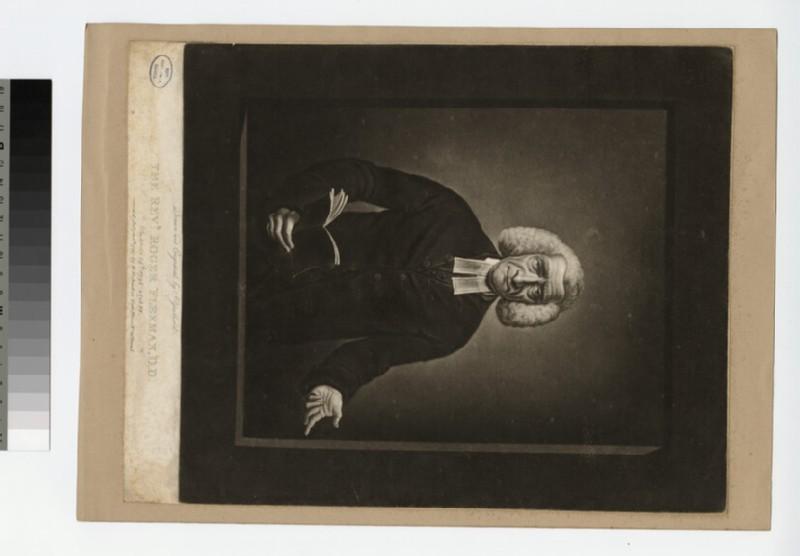 Portrait of R. Flexman (WAHP22689)