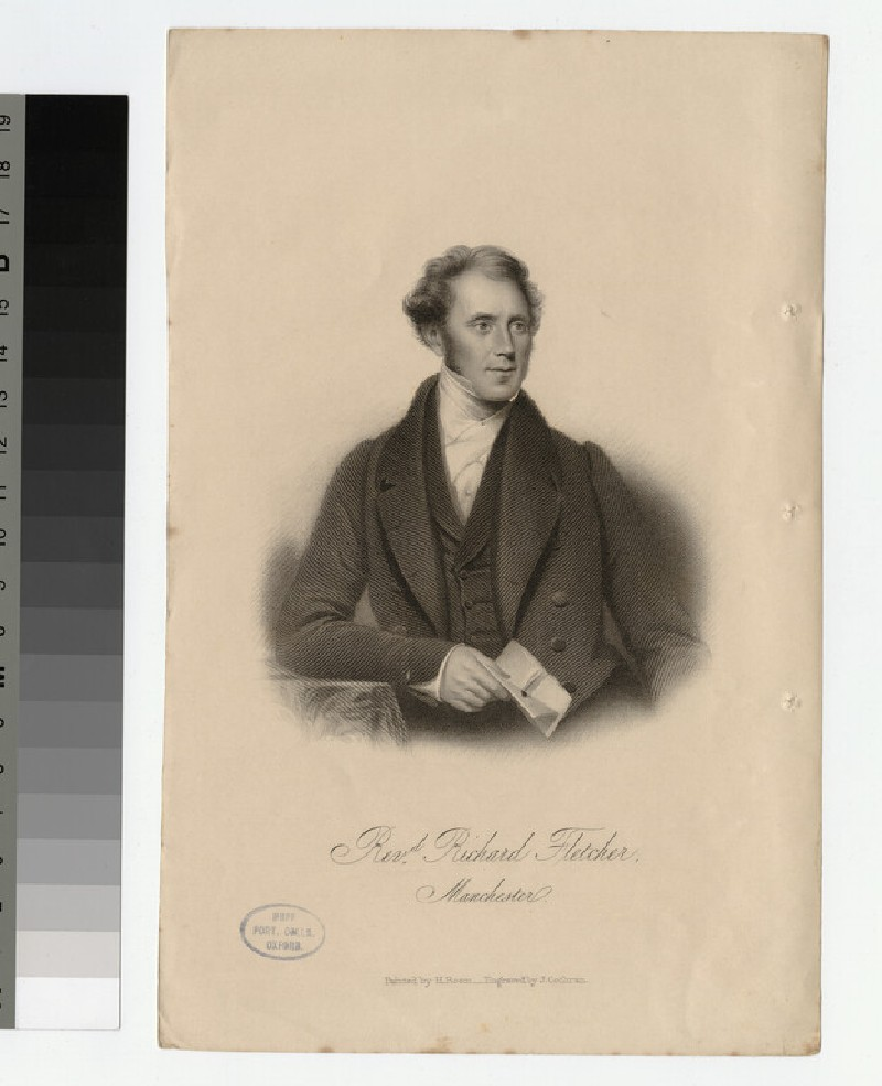 Portrait of R. Fletcher