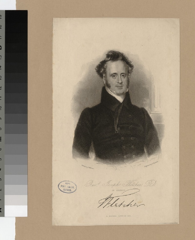 Portrait of J. Fletcher (WAHP22692)