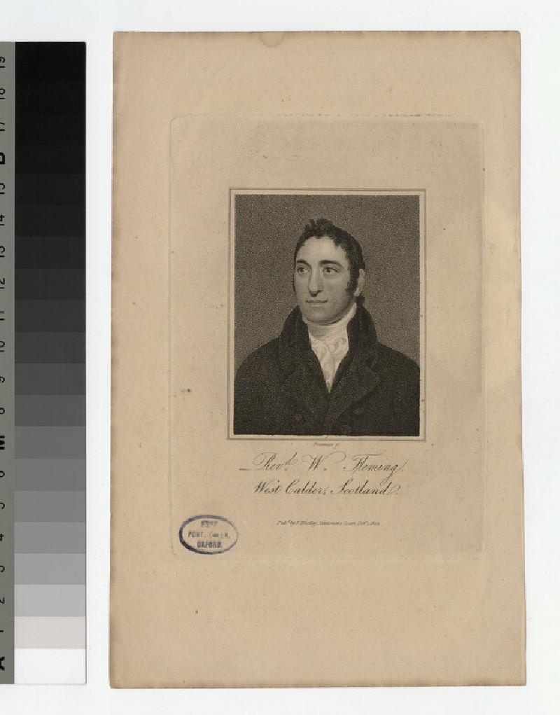 Portrait of W. Fleming
