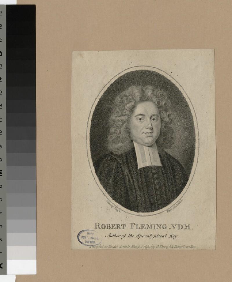 Portrait of R. Fleming