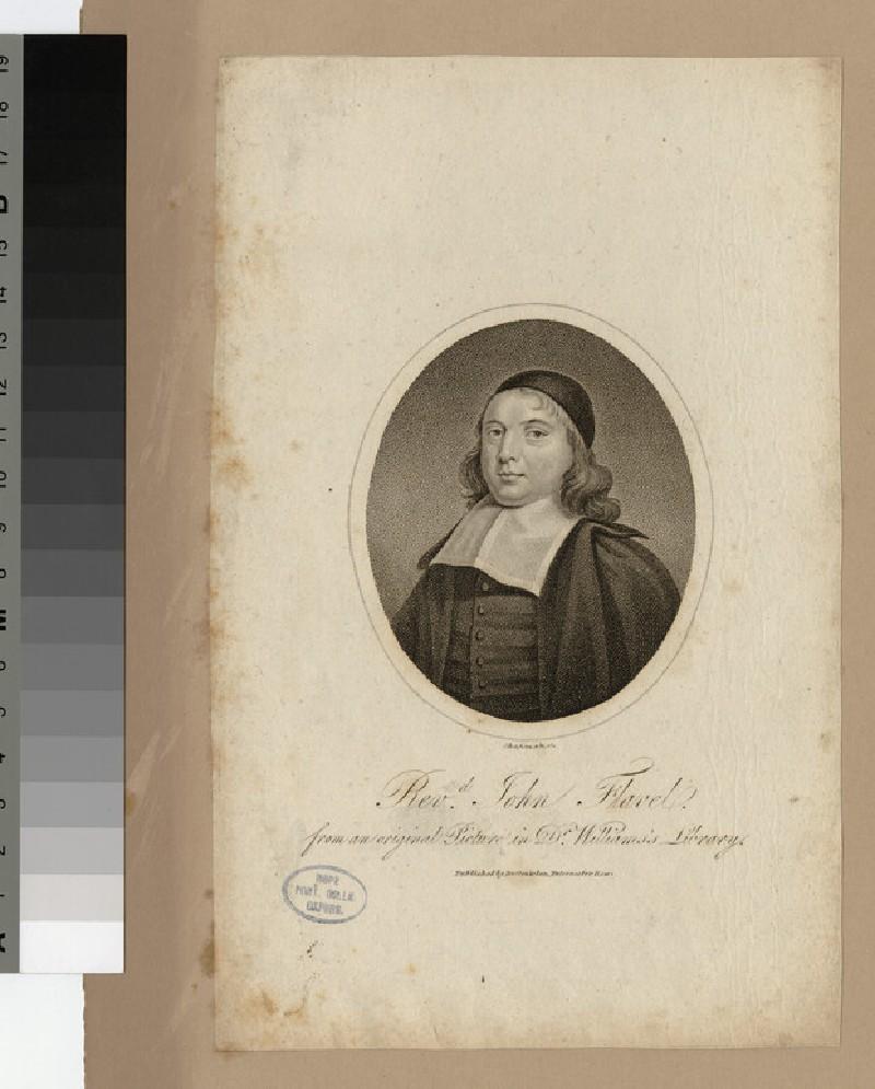 Portrait of J. Flavel (WAHP22715)
