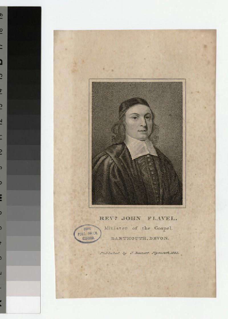 Portrait of J. Flavel