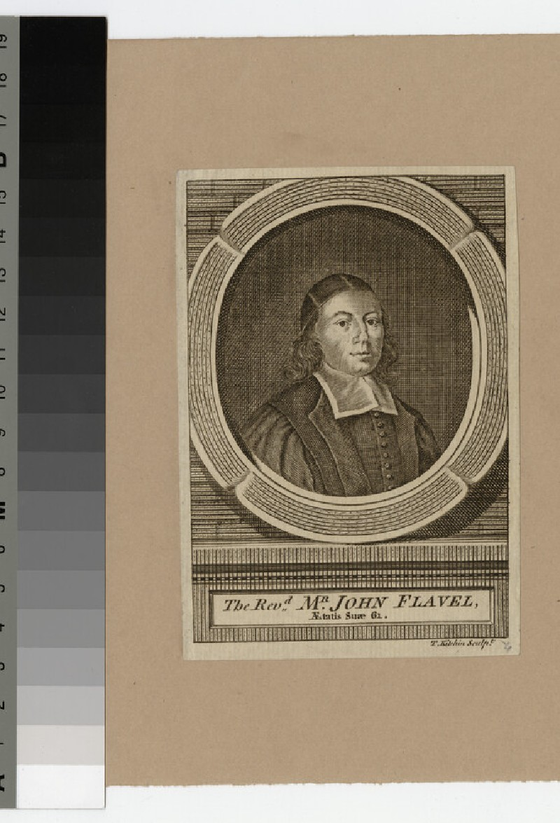 Portrait of J. Flavel (WAHP22725)