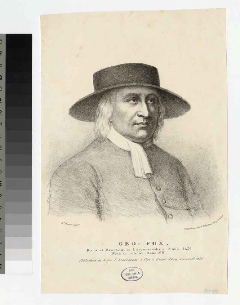 Portrait of G. Fox