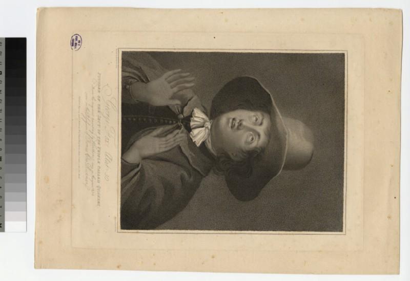 Portrait of George Fox (WAHP22731)