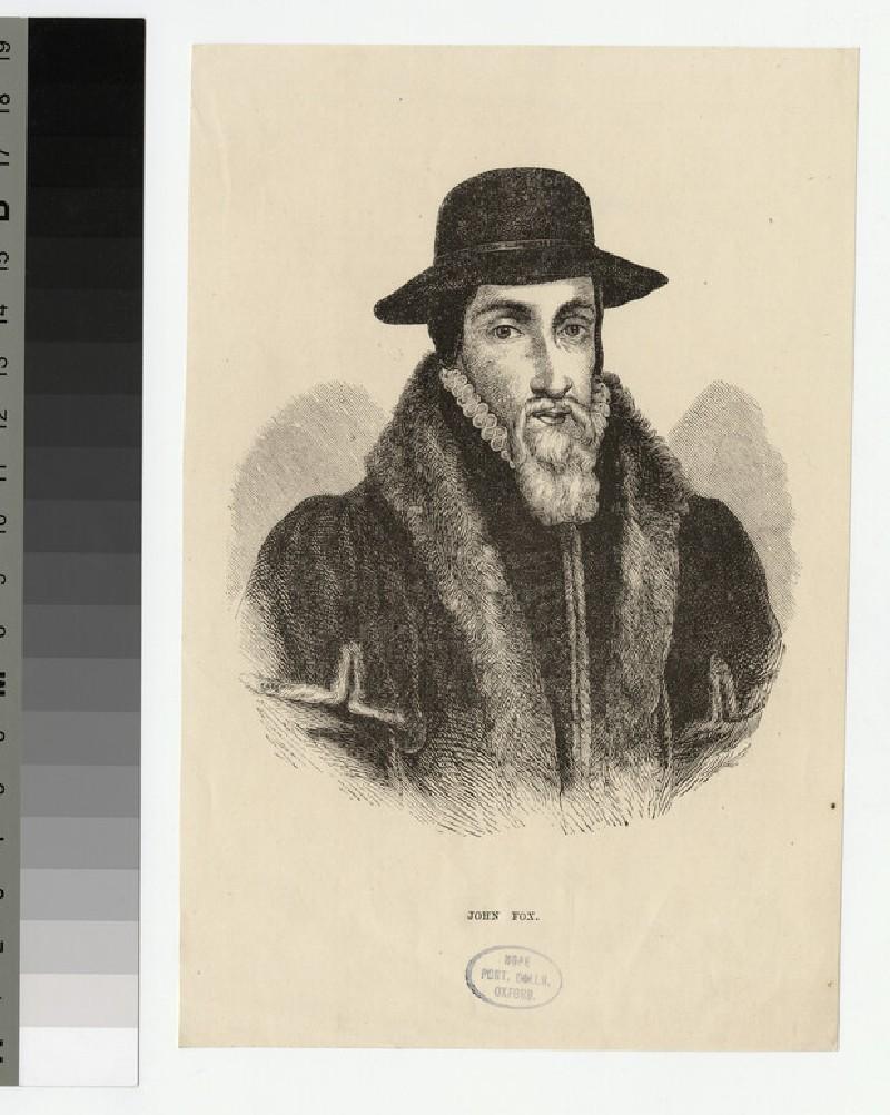 Portrait of J. Foxe (WAHP22768)