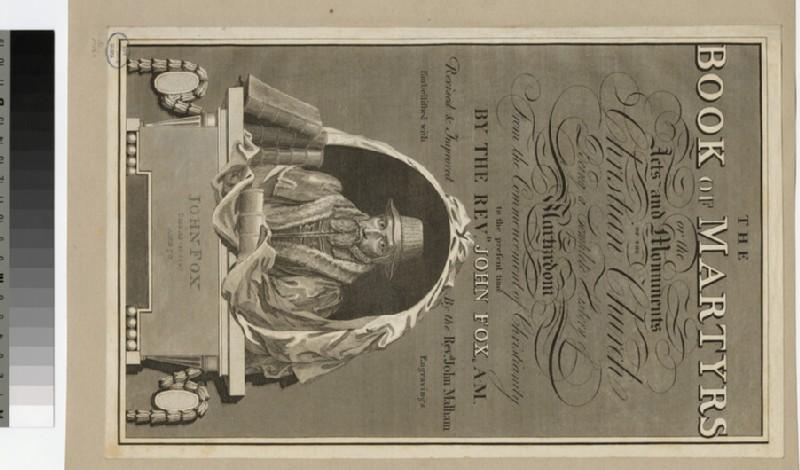 Portrait of J. Foxe (WAHP22774)