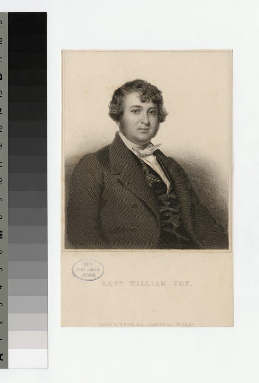 Portrait of W. Fox