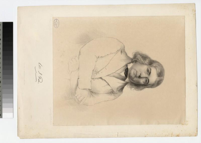 Portrait of W. J. Fox (WAHP22781)