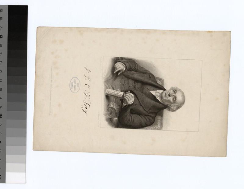 Portrait of C. F. Frey