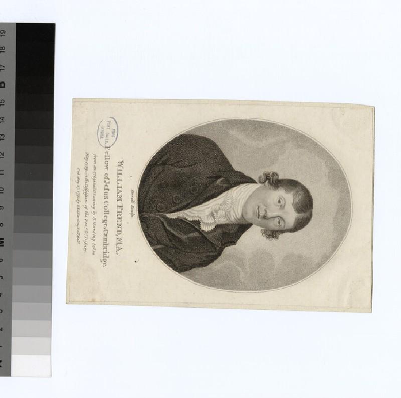 Portrait of W. Frend (WAHP22804)