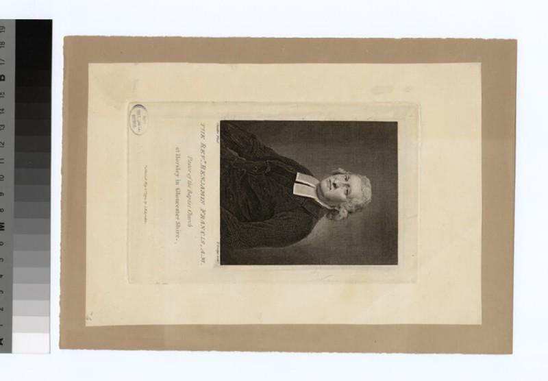 Portrait of B. Francis