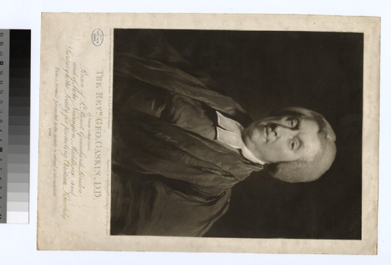 Portrait of Revd Dr G. Gaskin