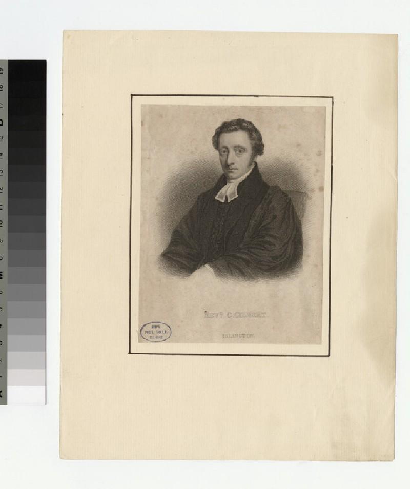Portrait of C. Gilbert (WAHP22874)