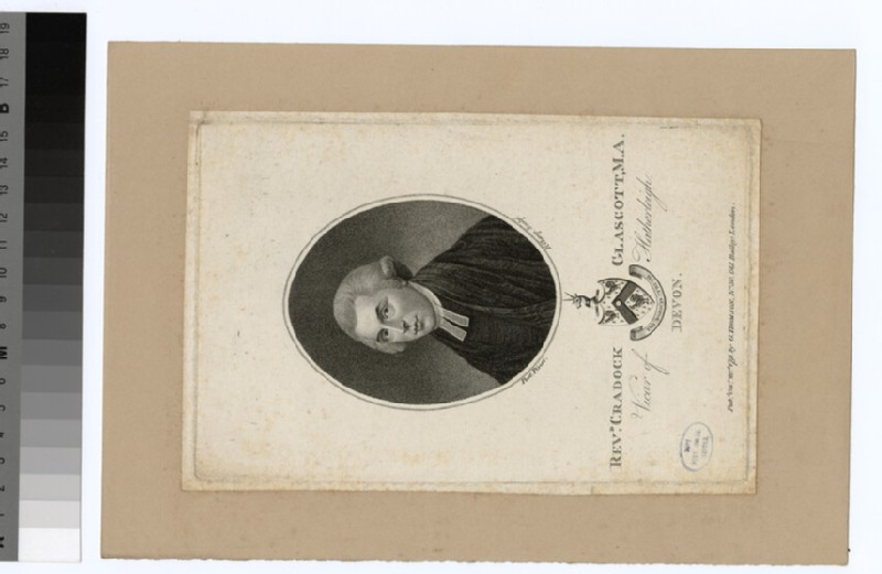 Portrait of Revd C. Glascott