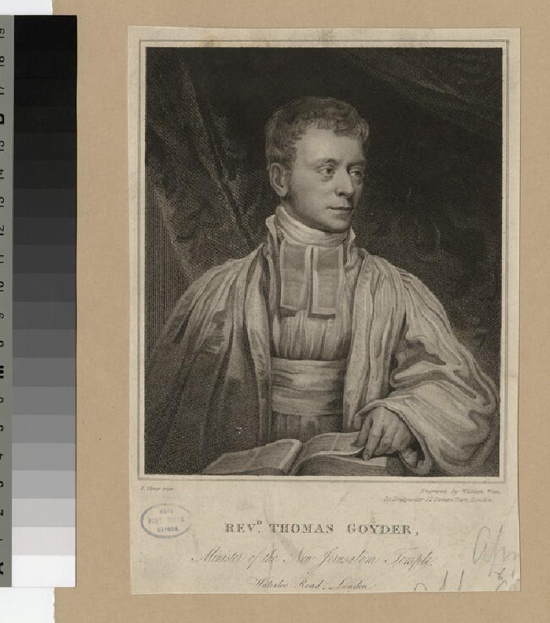 Portrait of T. Goyder