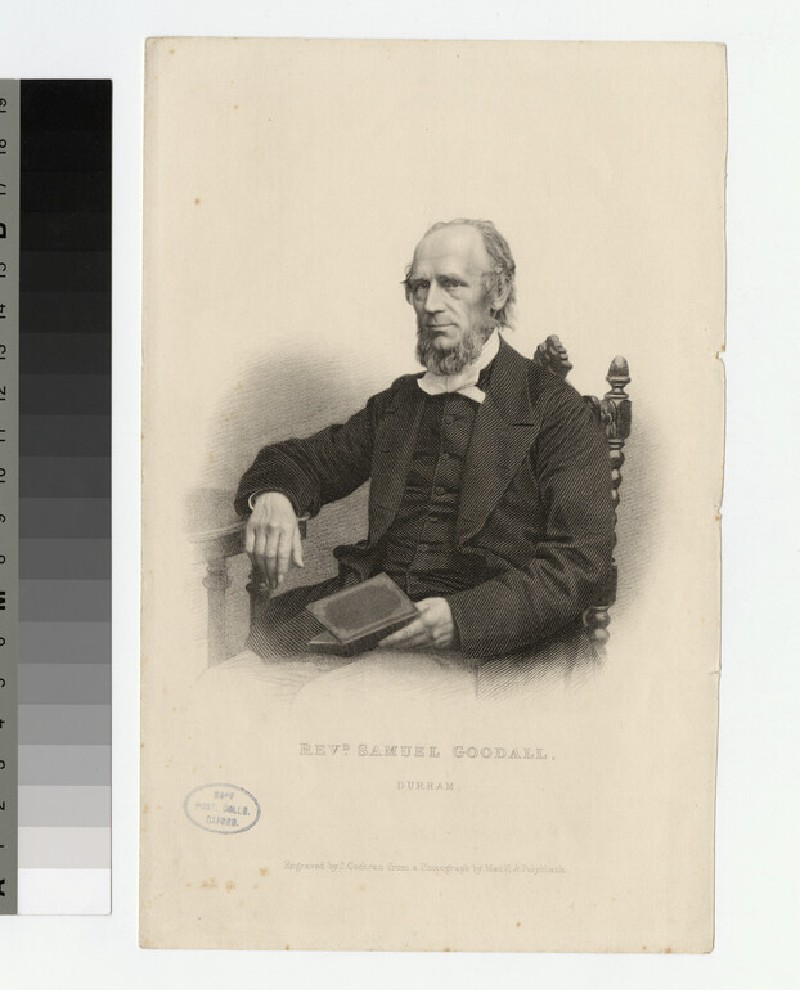 Portrait of S. Goodall (WAHP22957)