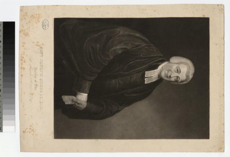 Portrait of Revd J. Goodall (WAHP22959)