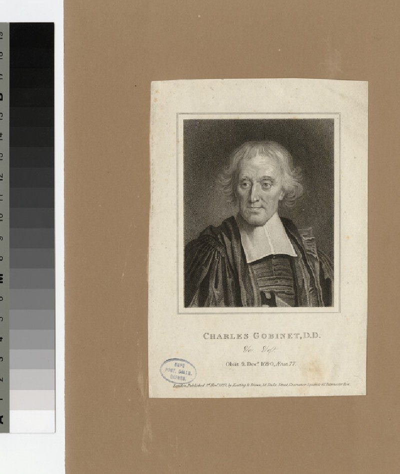 Portrait of C. Gobinet