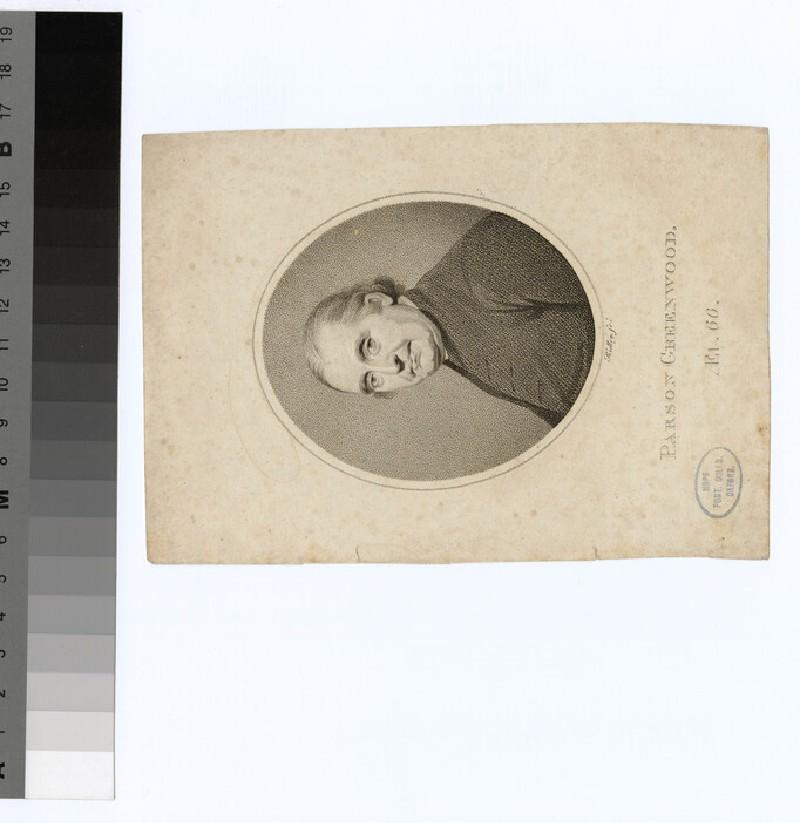Portrait of 'Parson' Greenwood