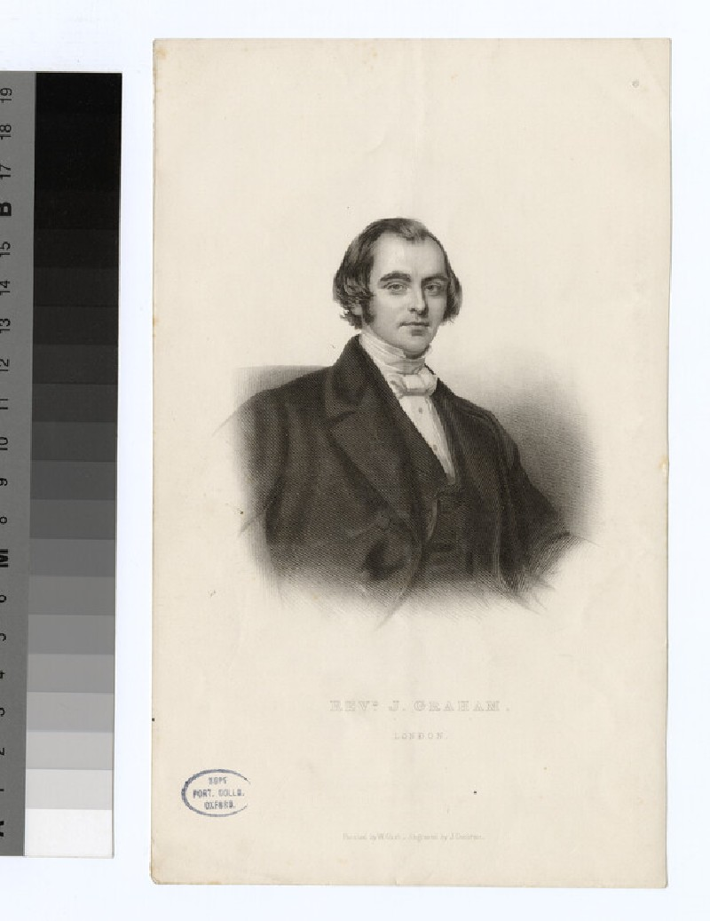 Portrait of J. Graham