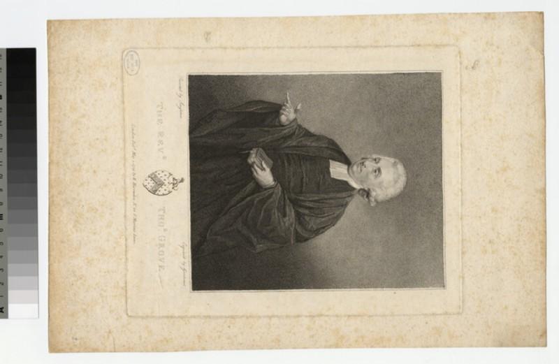 Portrait of T. Grove
