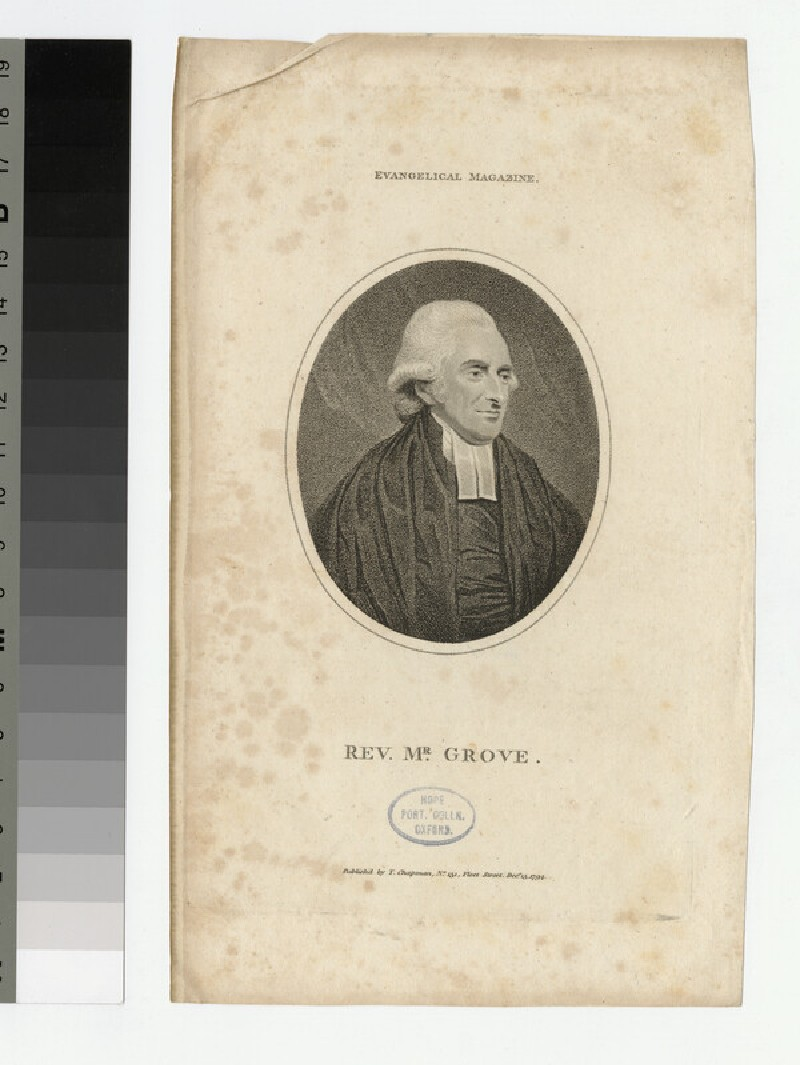Portrait of T. Grove (WAHP23003)