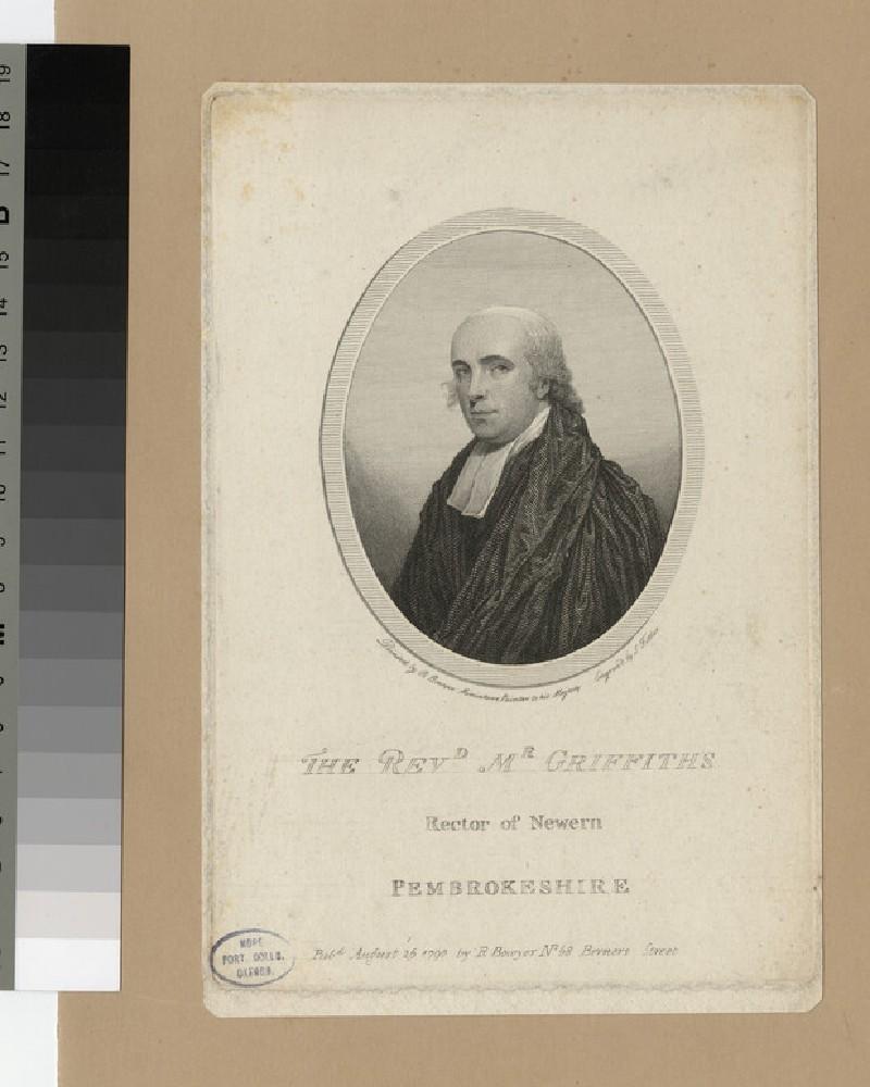 Portrait of Revd Griffiths