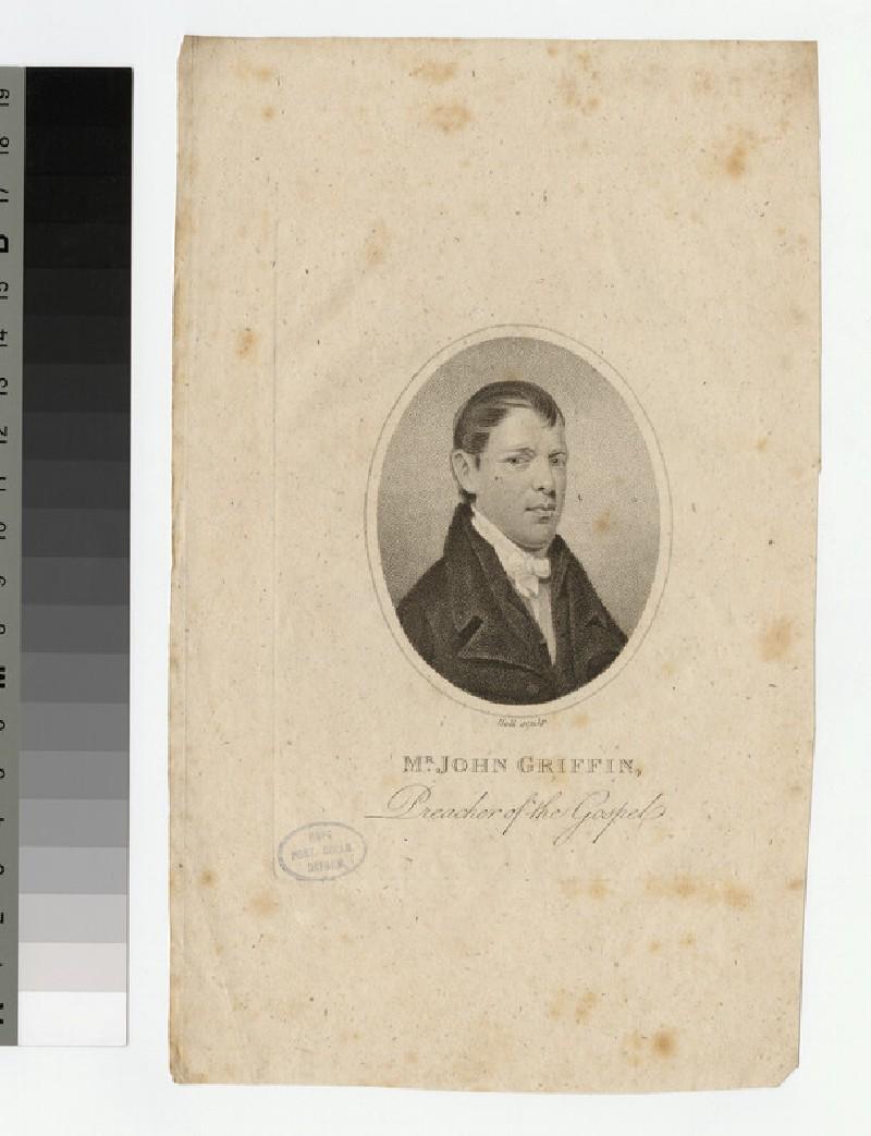 Portrait of J. Griffin (WAHP23022)