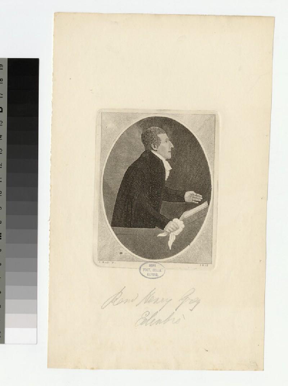 Portrait of H. Grey