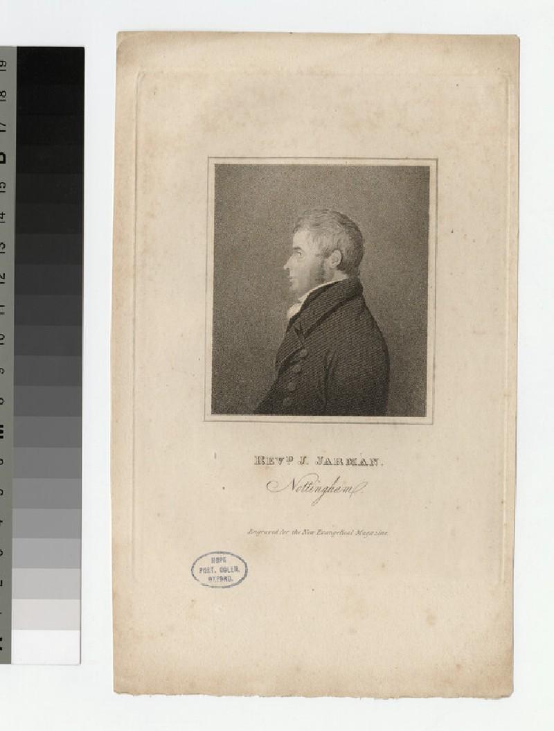 Portrait of J. Jarman (WAHP23068)