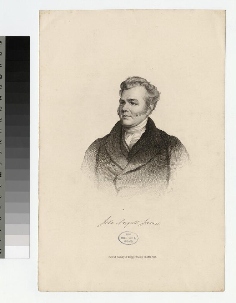 Portrait of J. A. James